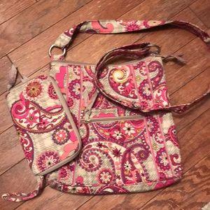 💕Vera Bradley bundle, purse and wallet💕